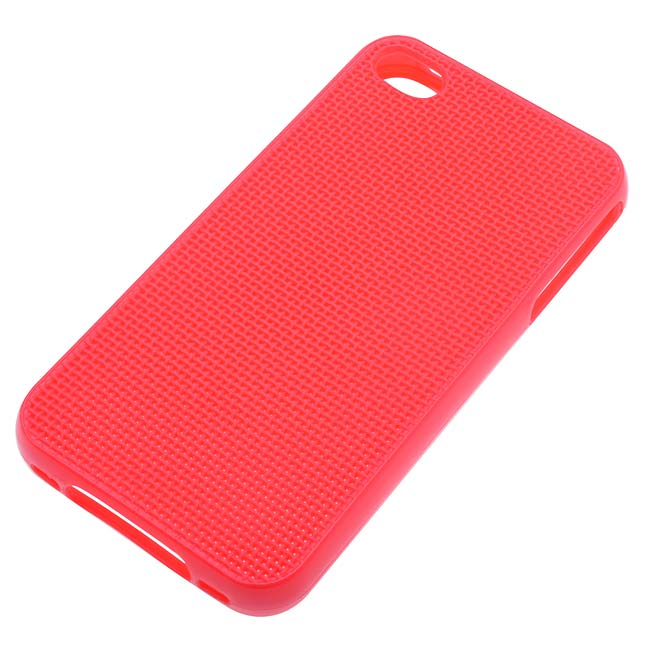 Final Sale - The Beadsmith BeadlePoint Stitchable Phone Case Fits iPhone 4/4S - Red