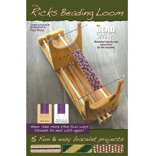The Beadsmith - Ricks Beading Loom Booklet - Includes Instructions For 5 Bracelets, 1 Book