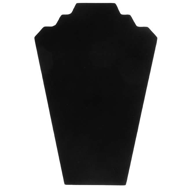 Black Velvet Necklace Easel Jewelry Display