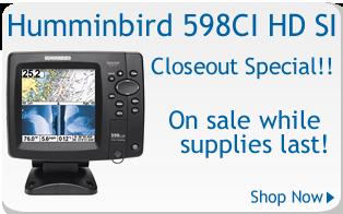 Humminbird overstock special