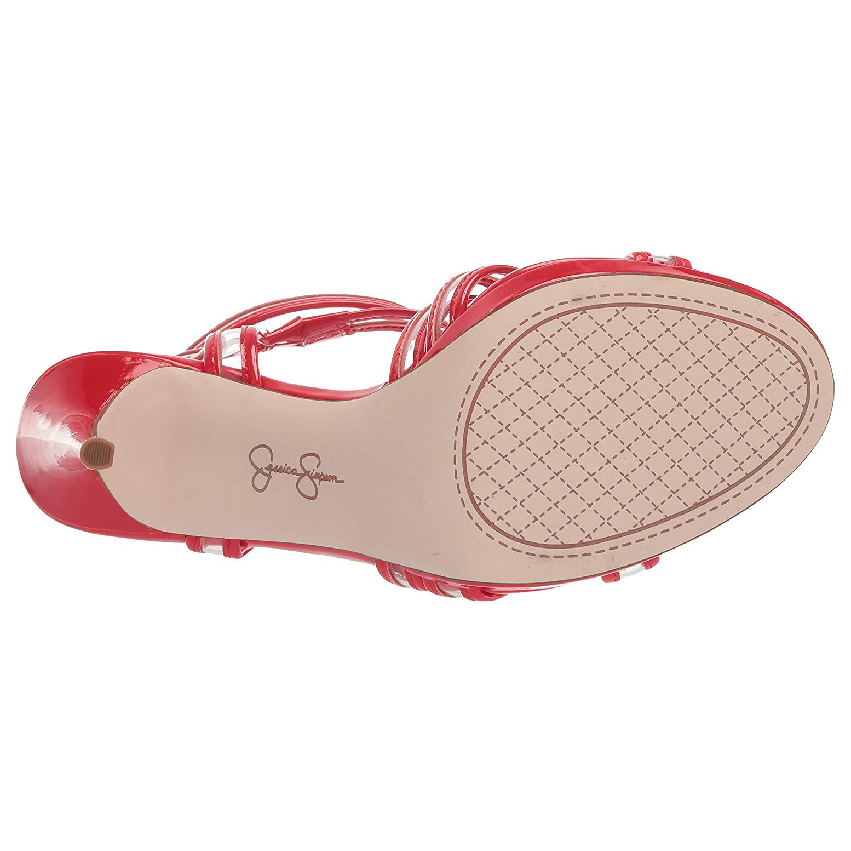 Jessica Simpson Women/'s KENDELE2 Heeled Platform Sandal Shoes