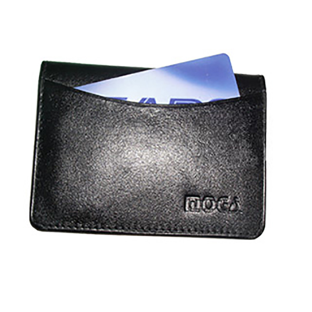 Gem Avenue Genuine New Leather Credit Card Holder ID Window 2.75