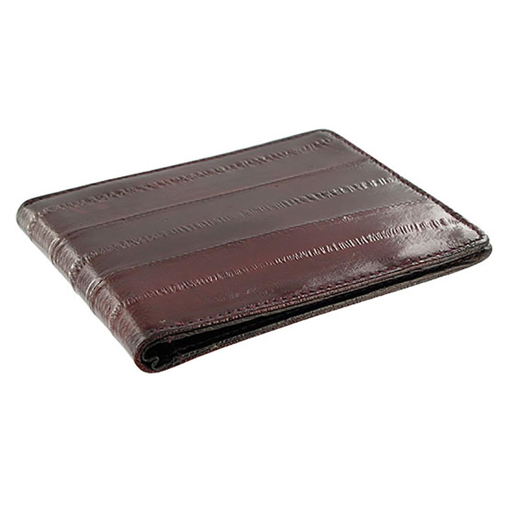 Gem Avenue Eel Skin Metal Clip Bill and Credit Card Holder Wallet Available in Different Colors
