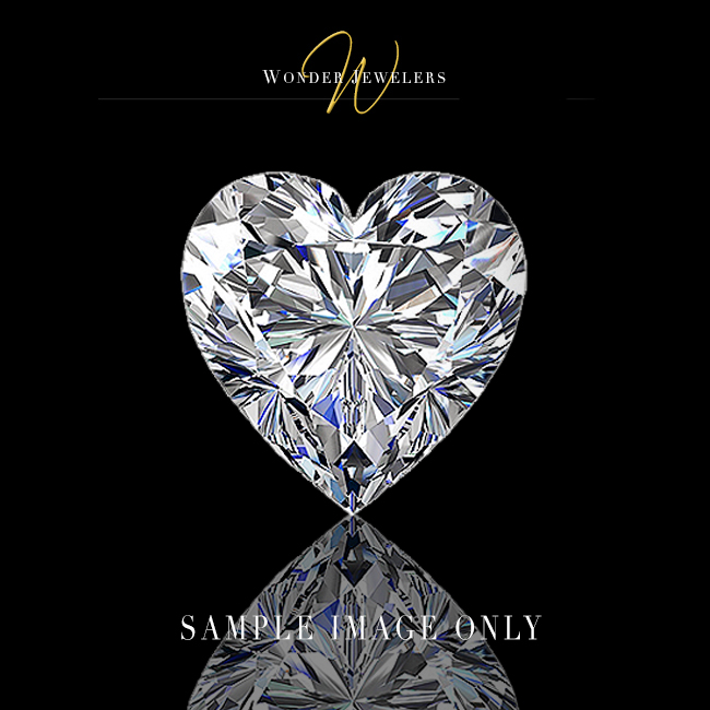 GIA Heart Loose Diamond