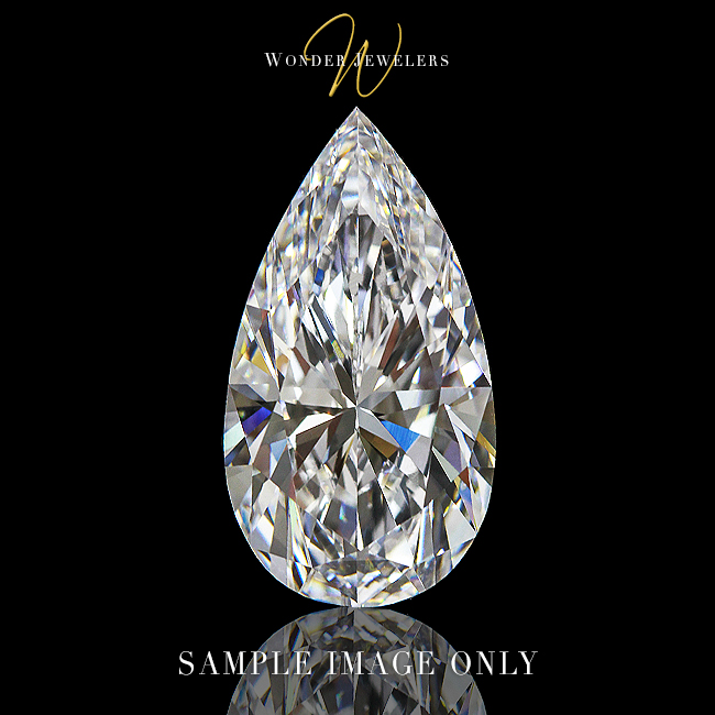 GIA Pear Loose Diamond
