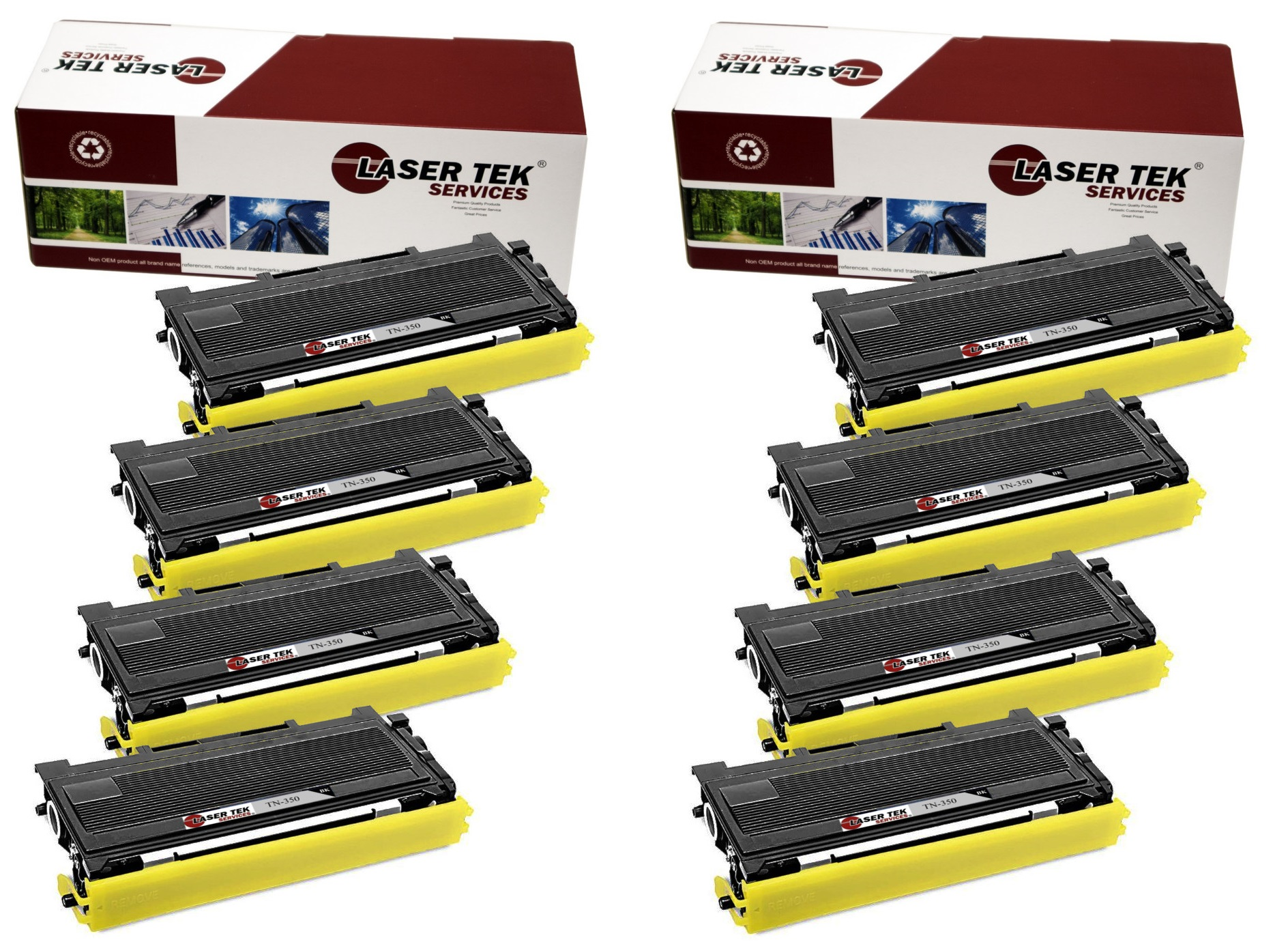 Brother Dcp 8pk Compatible Tn 350 Tn350 High Yield Toner