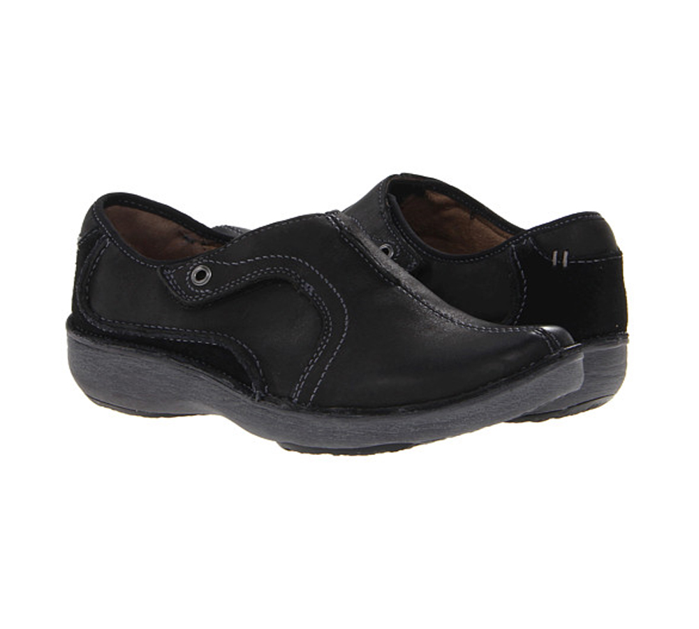 Clarks Women's Nikki Cabaret Slip Ons - Brown Scrunch | Discount Clarks  Ladies Shoes & More - Shoolu.com