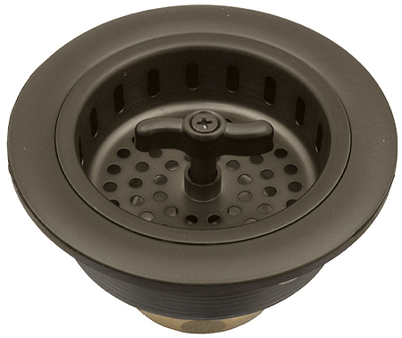 Oil rubbed bronze kitchen sink drain basket strainer ebay - Decorative kitchen sink strainers ...