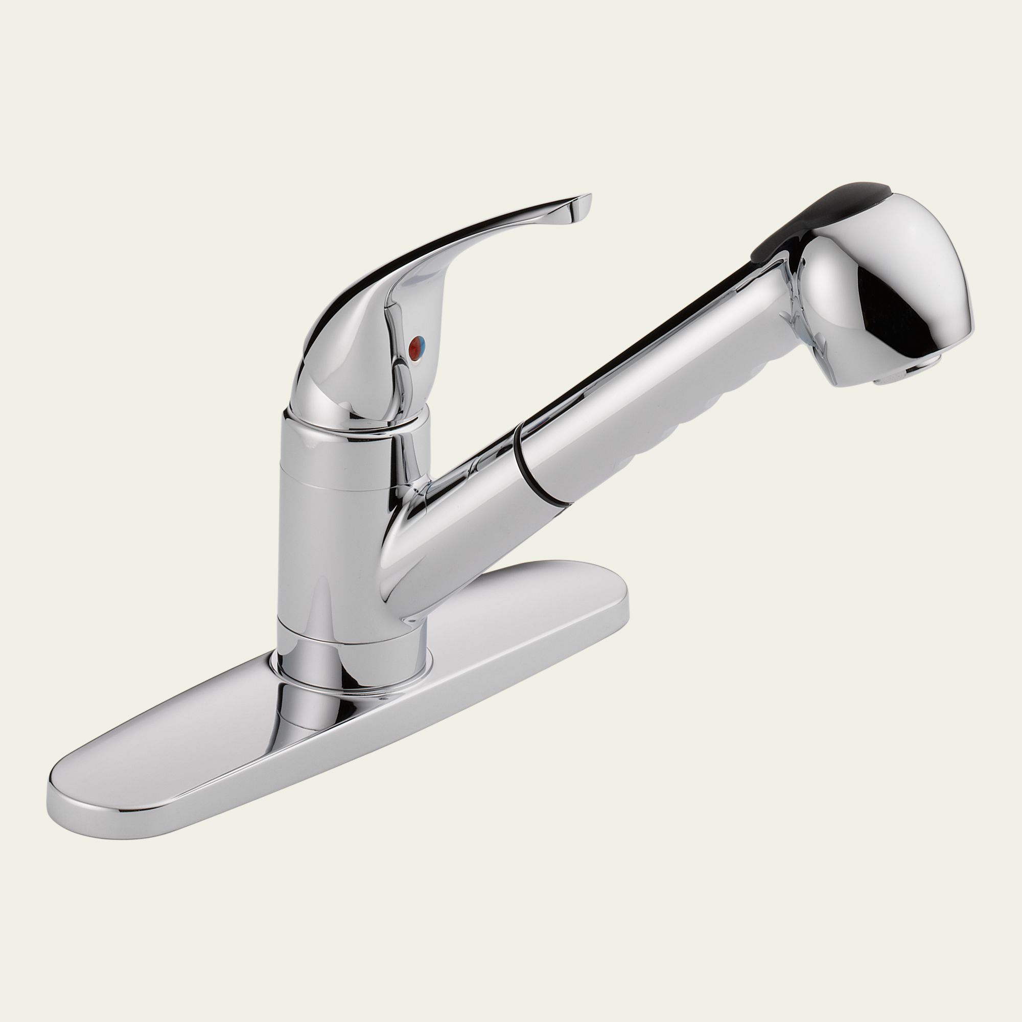 peerless was15x single handle pull out kitchen faucet shop peerless chrome 1 handle pull out kitchen faucet at