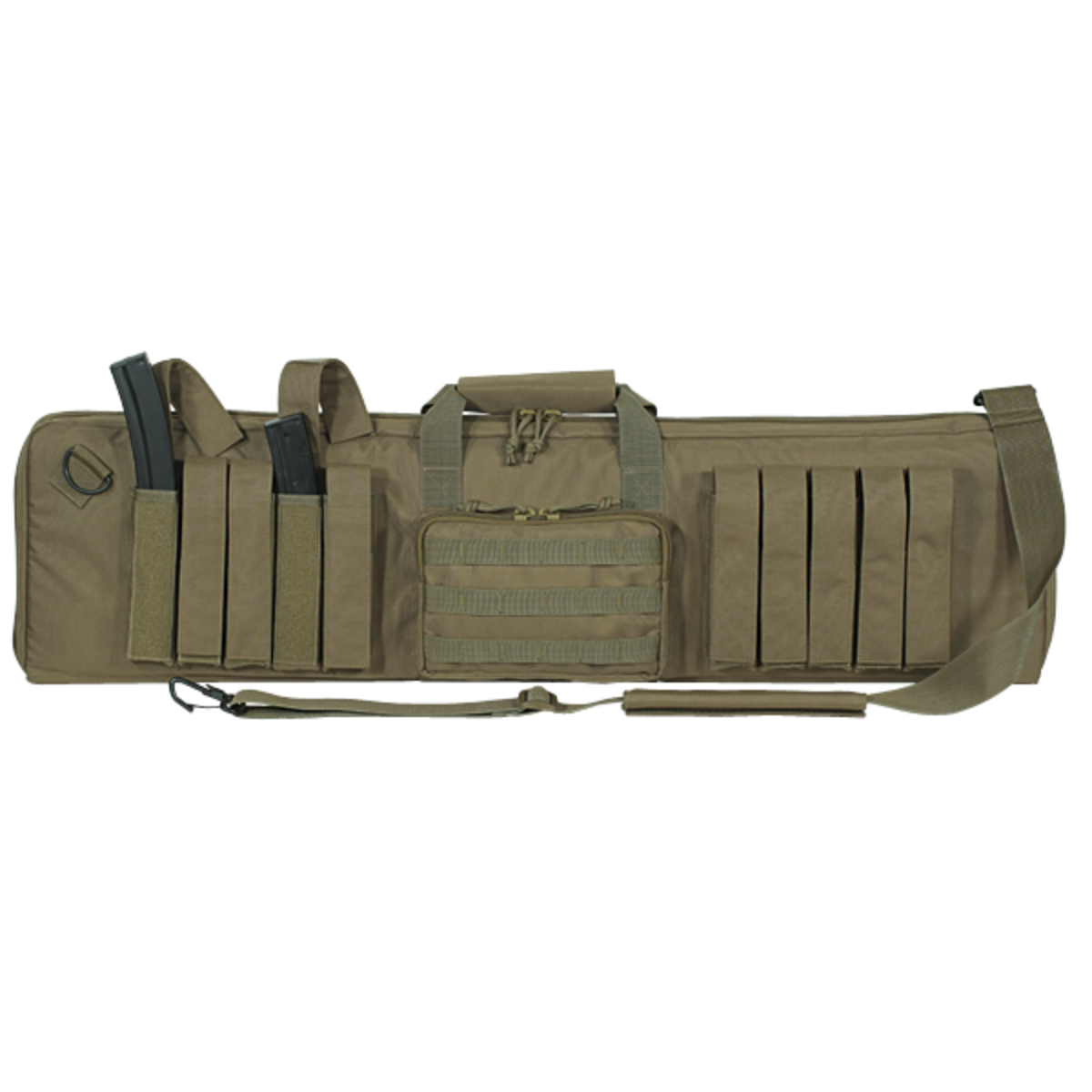 Voodoo Tactical 15-0114 MP5 Enlarged 37-Inch Subgun Padded Weapons Case, Tan at Sears.com