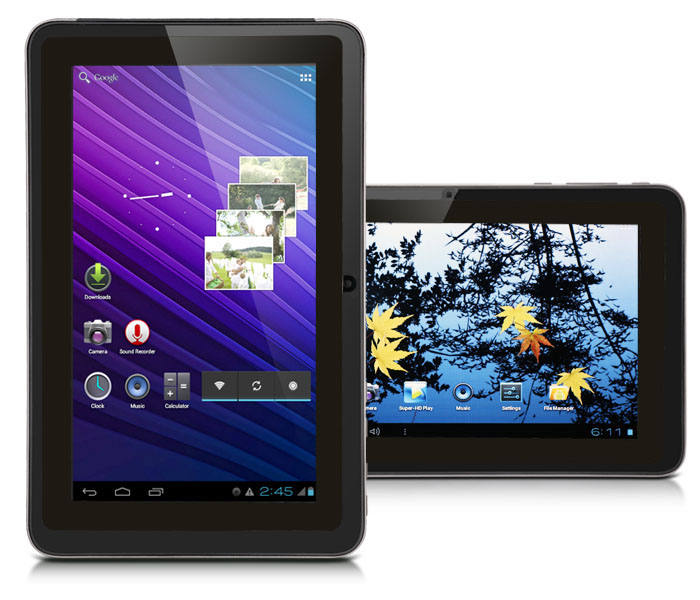 "SVP Tablet PC 7"" Capacitive TouchScreen Android 4.0 ICS WiFi A13 1.3GHz 4GB SmartPad at Sears.com"