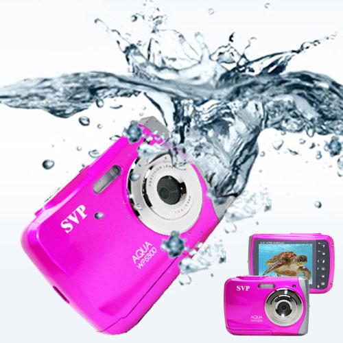 SVP 18MP Max. Underwater Digital Camera & Video Recorder - Waterproof up to 3 meters - AQUA-WP6800 Pink at Sears.com