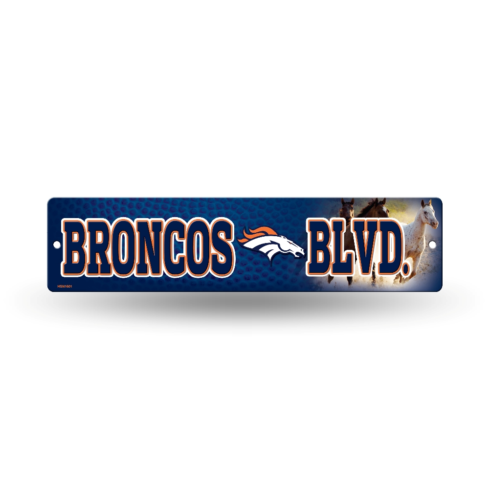 Nfl Man Cave Street Signs : Nfl teams officially licensed quot football street sign
