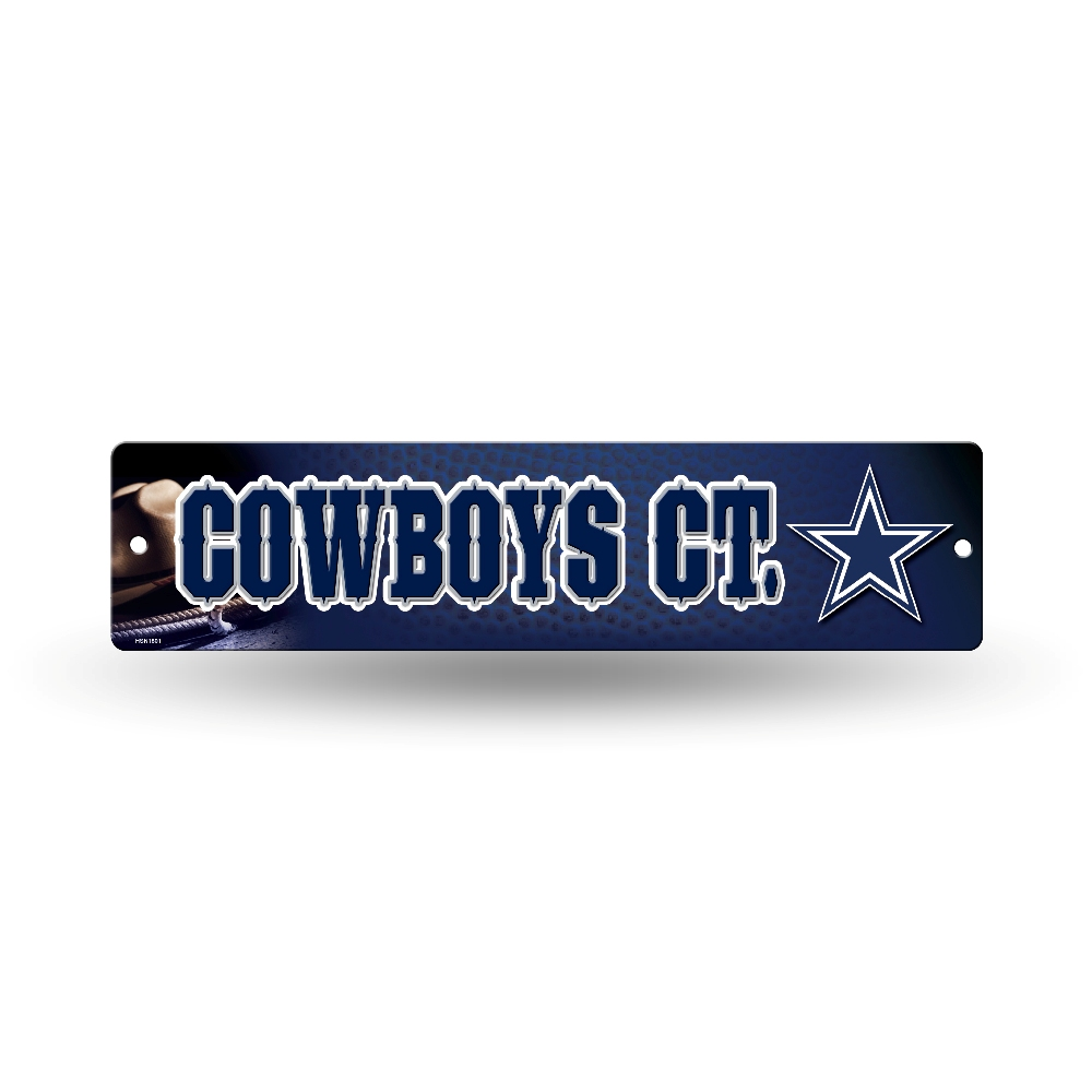Nfl Man Cave Street Signs : Nfl teams officially licensed quot football street sign man
