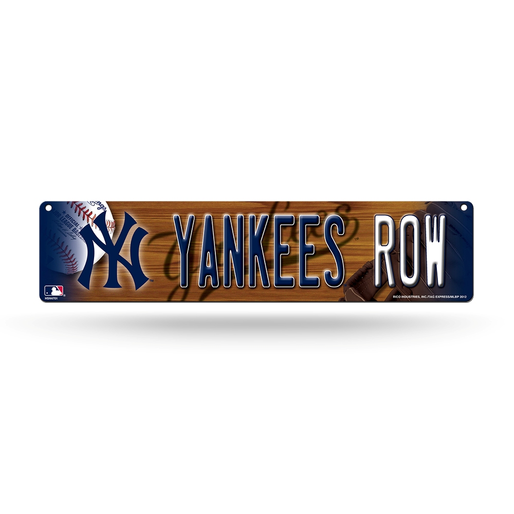 Wall decor street signs : Mlb teams officially licensed quot baseball street sign