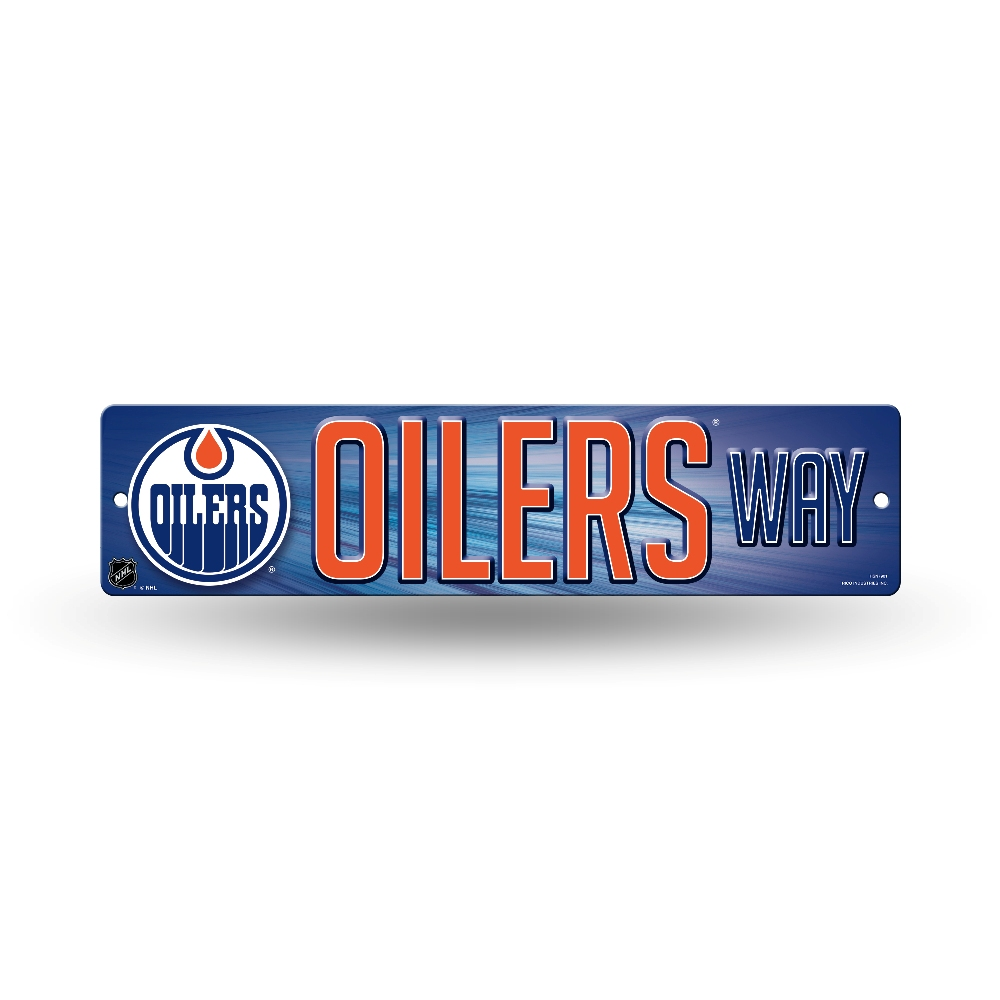 Wall Decor Man Cave Signs : Nhl teams officially licensed quot hockey street sign man