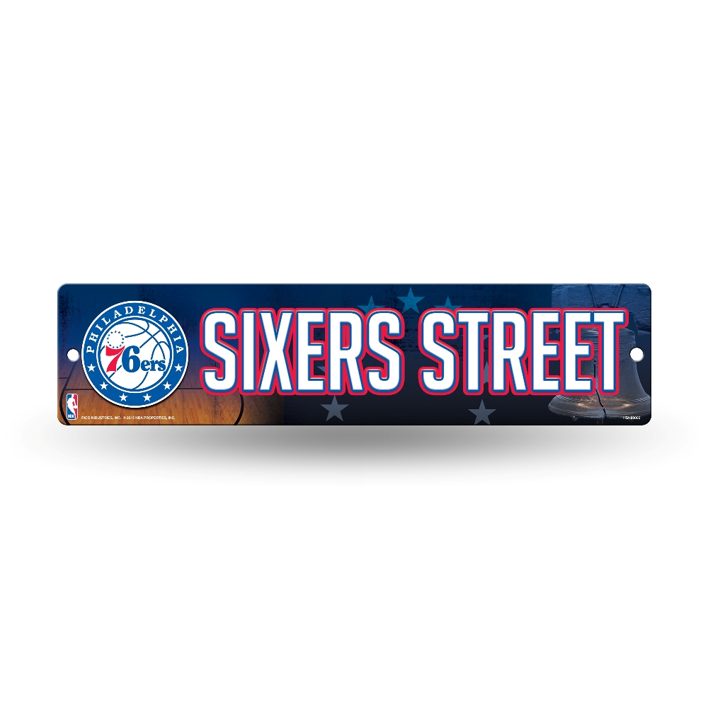 Sports Team Man Cave Signs : Nba teams officially licensed quot basketball street sign