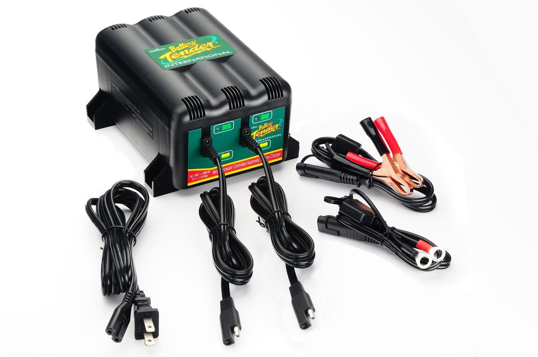 Dual 2 Bank Battery Tender 022
