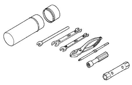 honda oem tool kit fourtrax rancher 95