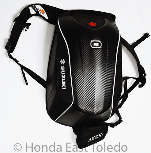 Suzuki OGIO No Drag Mach 5 Backpack   eBay