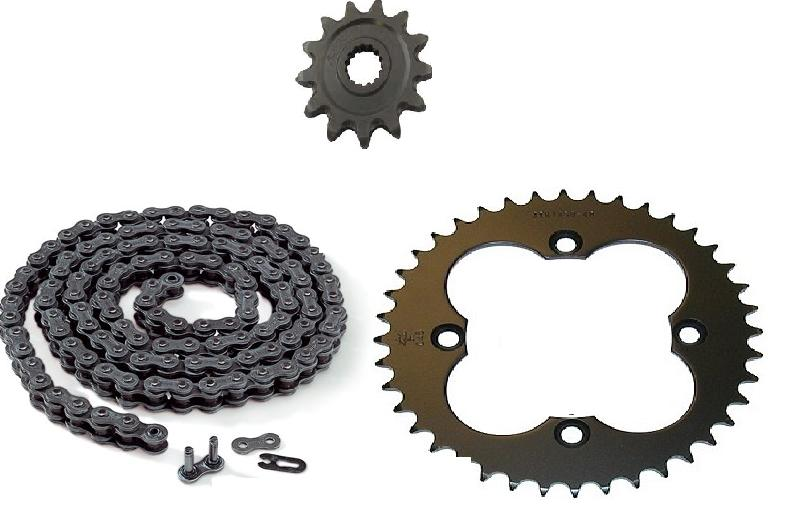 Sprocket And Chain For Yamaha Warrior