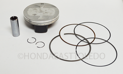 honda piston kit 2004 2008 crf450r crf450 crf 450 oem. Black Bedroom Furniture Sets. Home Design Ideas