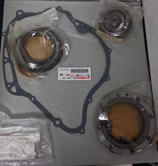 Yamaha V Star Starter Clutch Repair