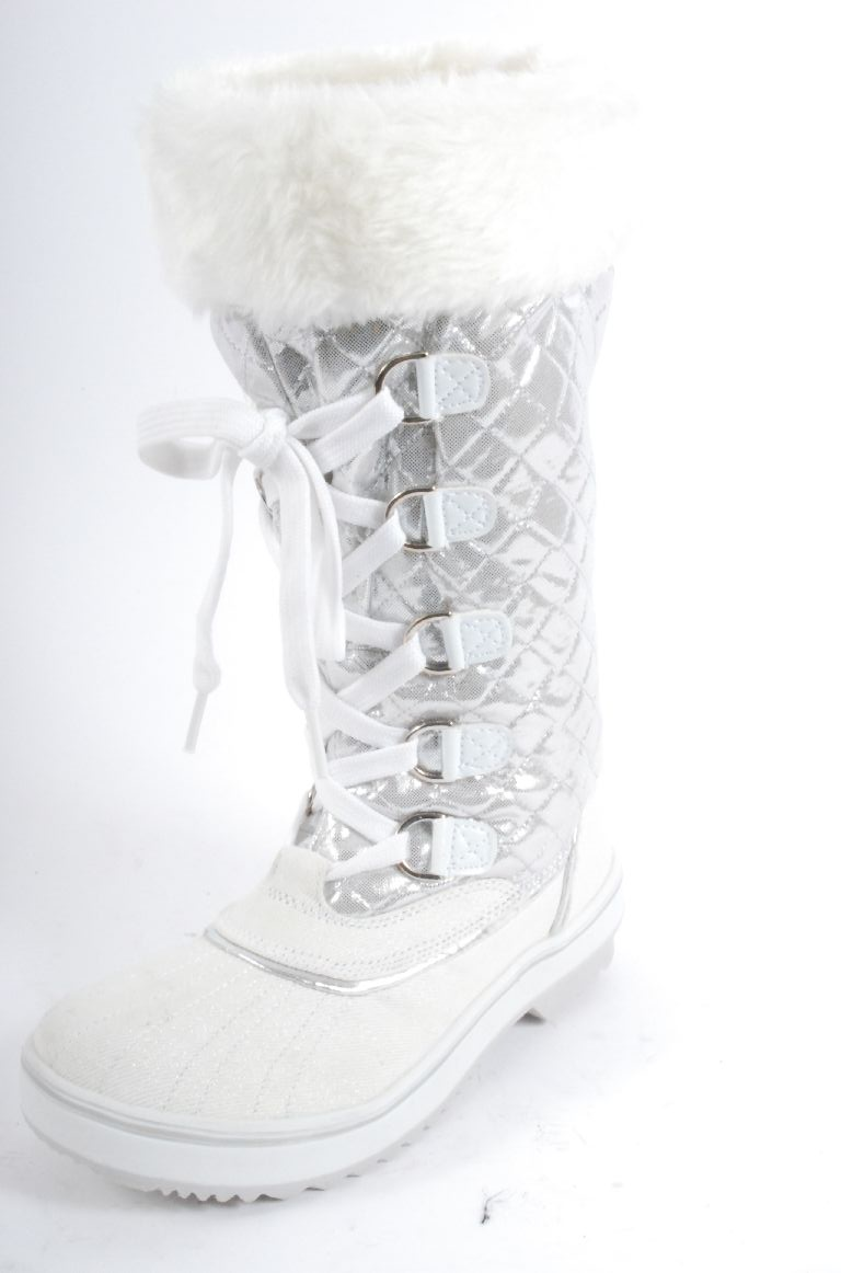 Baby Phat Womens 0514MSN1810 White Synthetic Boots at Sears.com