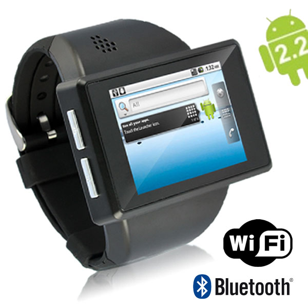 "SVP Unlocked! Android 2.2 GSM 2"" Touch Screen WiFi Watch Smartphone Watchphone! at Sears.com"