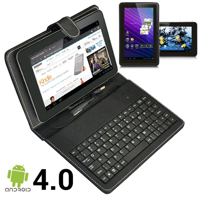 SVP Android 4.0 ICS 7-inch Tablet PC Capacitive Touch Screen WiFi A13 + Free  Keyboard Case at Sears.com
