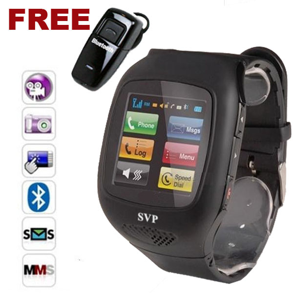 SVP Unlocked! Micro Touch Screen Camera MP3 GSM Watch Cell Phone! [aT&T / T-Mobile] at Sears.com