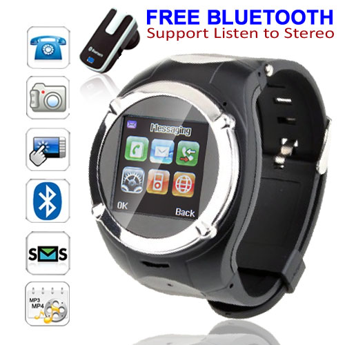 inDigi Stylish GSM Sport Wireless Watch Phone w/ Bluetooth Spy Camera Camcorder MP3 MP4  Unlocked! at Sears.com