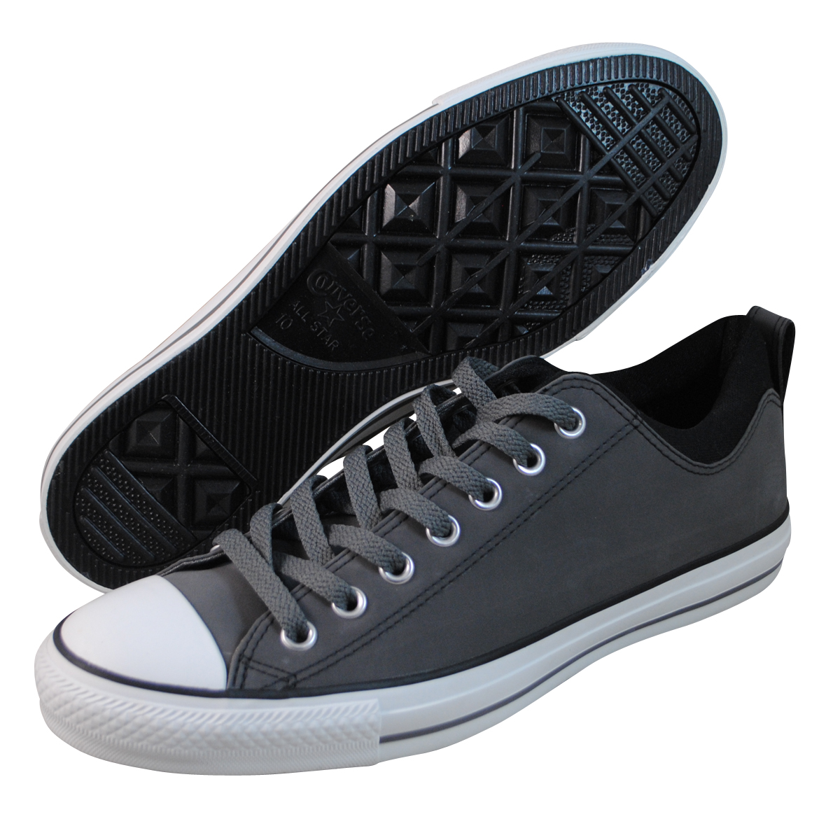 converse mens ct dual collar grey fashion sneakers ebay