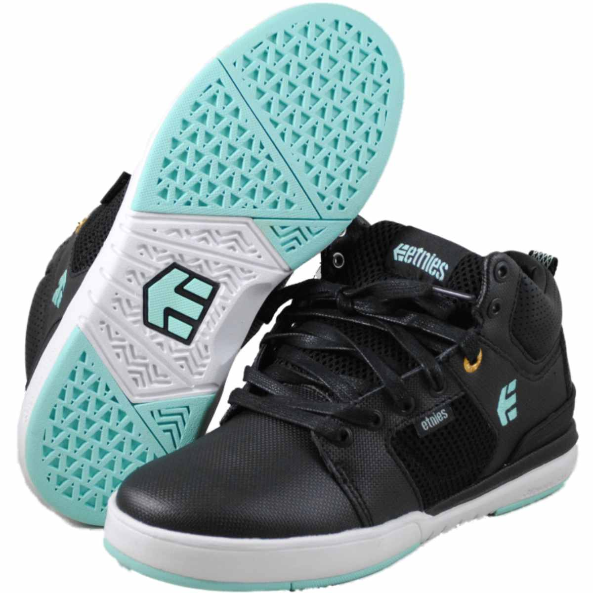 Etnies Mens High Rise Black skateboarding-shoes at Sears.com