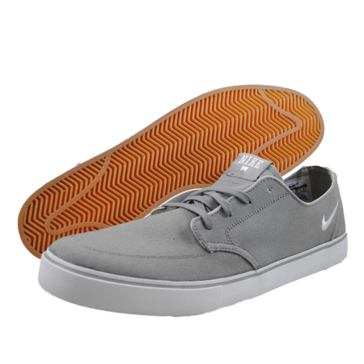 nike mens braata lr canvas grey skateboarding shoes ebay