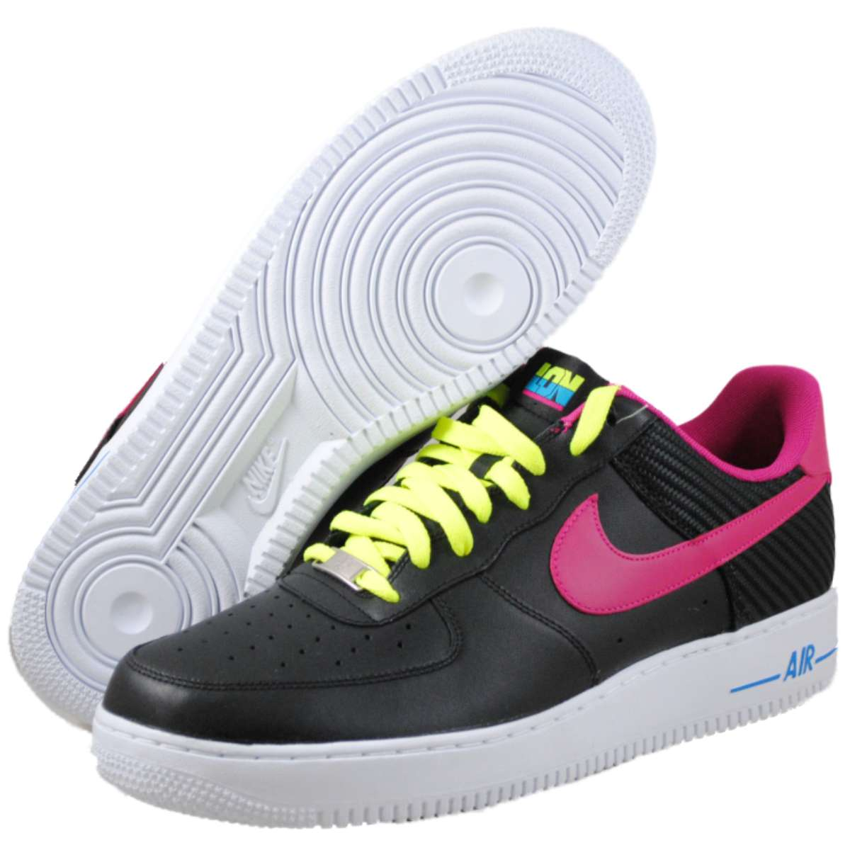 Nike Mens Air Force 1 Black basketball-shoes at Sears.com
