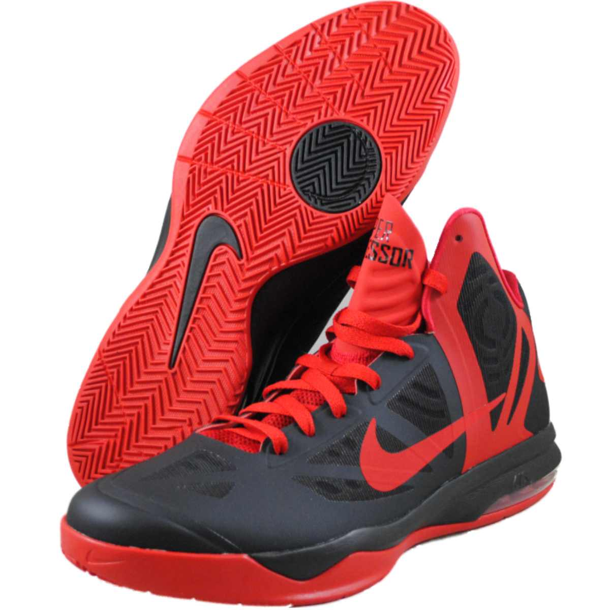 Nike Mens Air Max Hyperaggressor Black basketball-shoes at Sears.com
