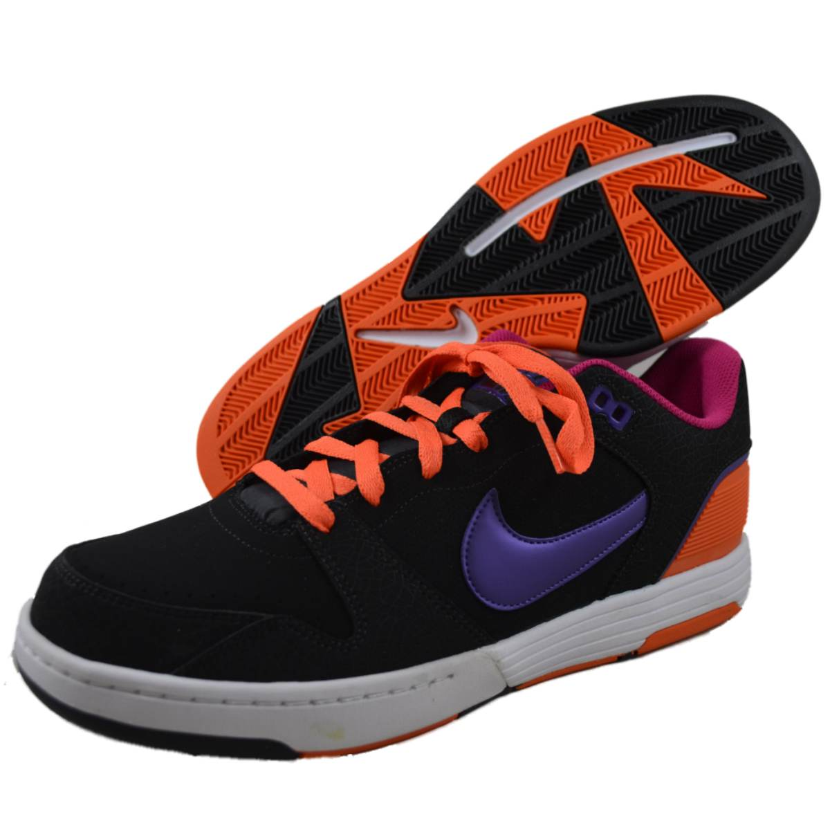 Nike Mens NIKE MACH FORCE Black fashion-sneakers at Sears.com