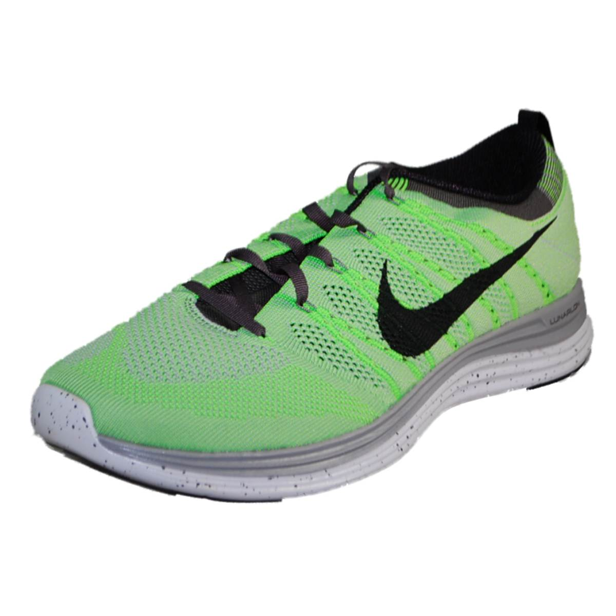 Nike Mens NIKE FLYKNIT ONE+ Green Running Shoes | EBay