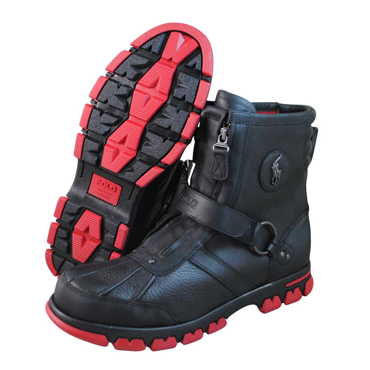 polo mens conquest hi iii c black boots 8121903480ta ebay