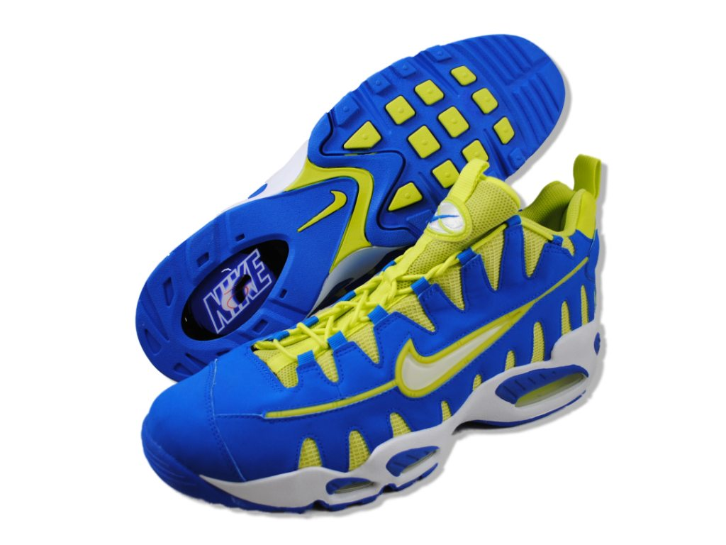 Nike Mens Nike Air Max Nm Blue basketball-shoes at Sears.com