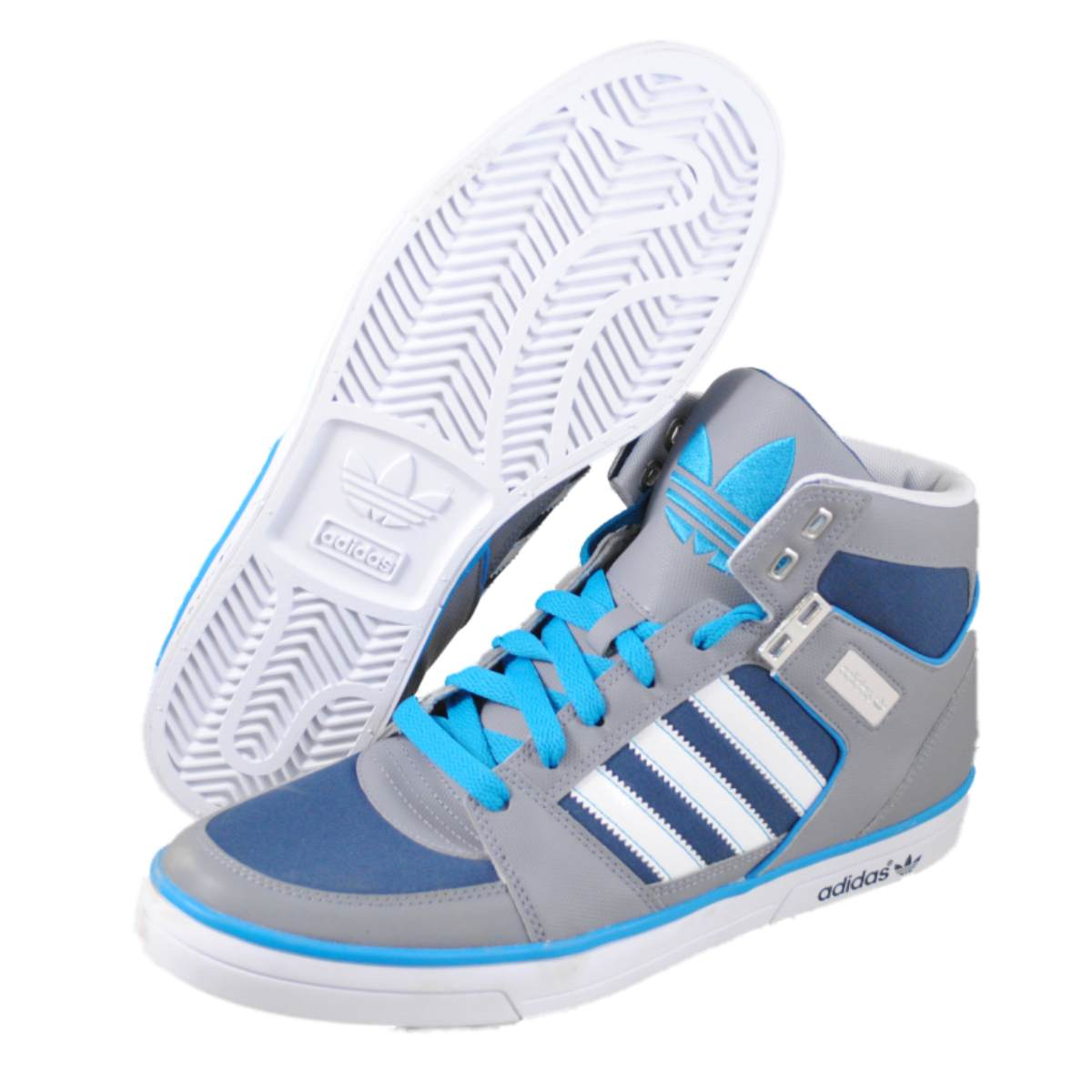 adidas mens hardcourt hi ii blue fashion sneakers. Black Bedroom Furniture Sets. Home Design Ideas