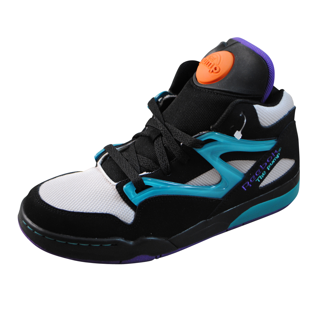 Reebok mens pump omni lite black basketball shoes v45019 ebay - Basket reebok pump omni lite ...