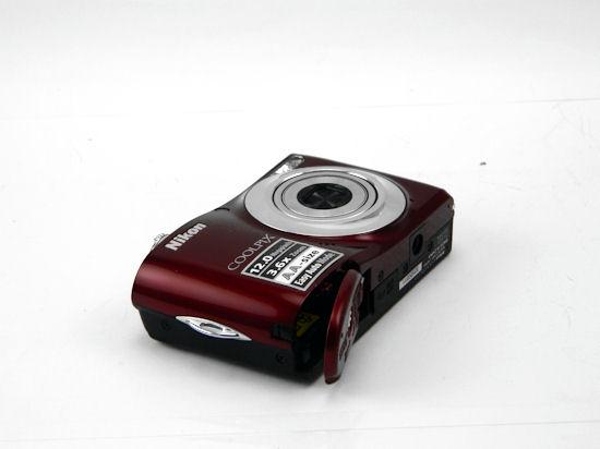 For Parts Nikon Coolpix L22 12 1 Mp Red Digital Camera