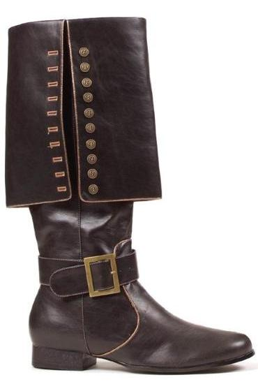 Ellie Caribbean Pirate Buccaneer Mens Black Costume Boots at Sears.com
