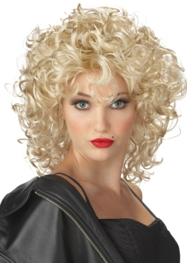 California Costume Adult Halloween Costume 80s Madonna Curly Blonde Wig at Sears.com