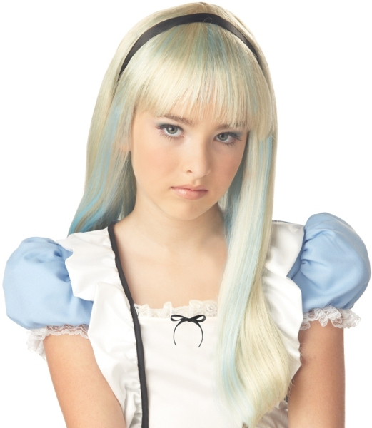 Alice In Wonderland Costume Wig 65