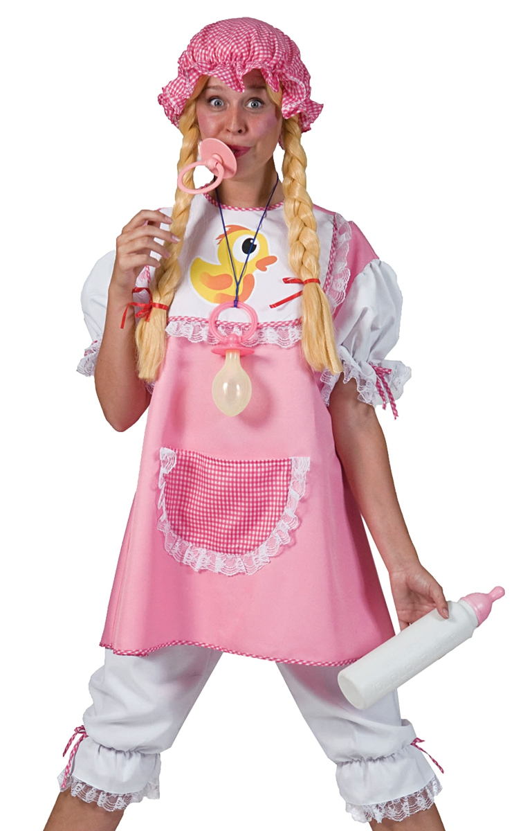 Funny Adult Baby Outfit Womens Halloween Party Costume