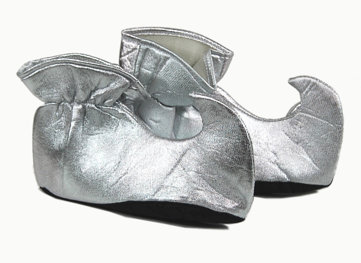 Forum Santa Helper Adult Christmas Costume Silver Elf Shoes at Sears.com