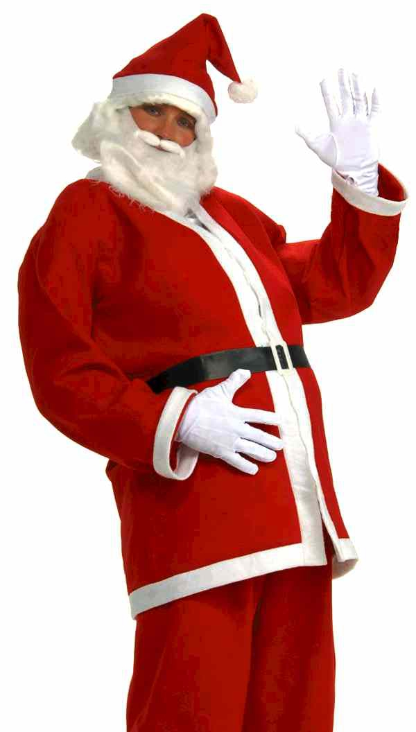 Forum Santa Claus Adult Christmas Costume with Beard at Sears.com